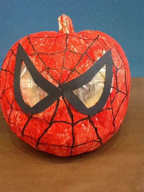 spiderman pumpkin pumpkin decorating contest pinterest