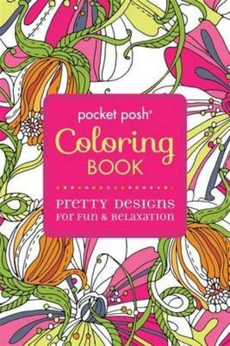 I O N Paperback new pocket posh coloring book by michael o mara books ltd