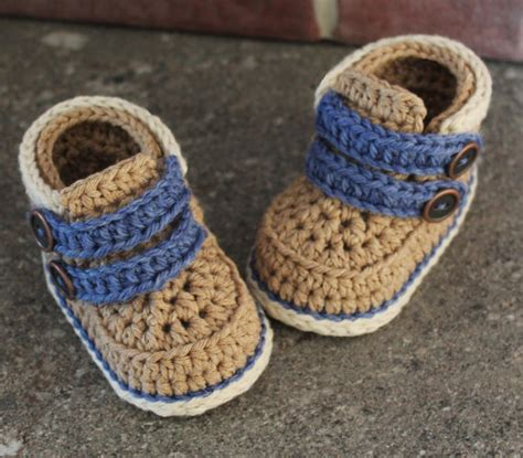 baby boy booties crochet baby booties pattern cairo boots crochet by