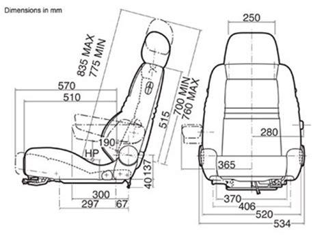 Anthropometric Measurements For Interior Design Recaro Ergomed Es Vehicle Seat Ergonomic Line Stable