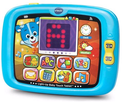 vtech light up baby touch tablet tablet para bebe vtech light up baby touch juego azul