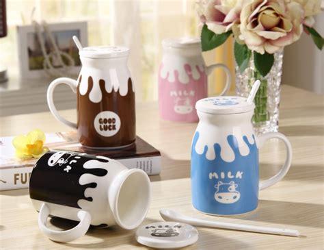 Mug Keramik Unik Mug Large luck milk mug large panmomo belanja barang