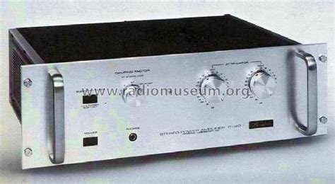 Power Lifier Phase Lab stereo power lifier p 20 l mixer accuphase laboratory