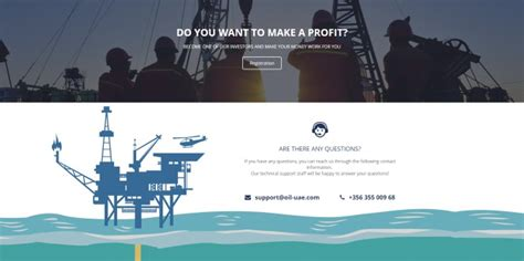 oil uae investing frenzy   ghost company