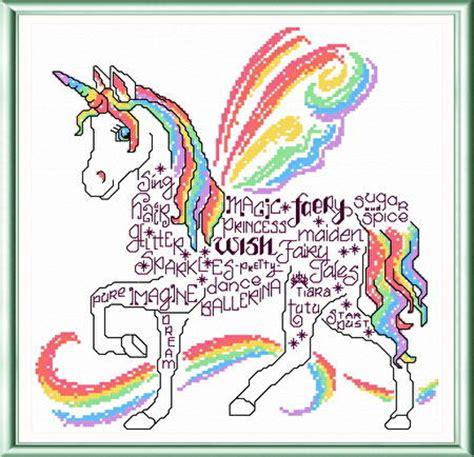 Home Design Maker Online Let S Unicorn Cross Stitch Pattern Words