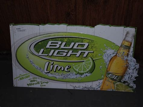 bud light tin signs bud light lime tin sign