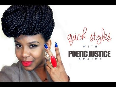 how to make the ends of poetic justice braids skinny how to seal the ends of your box braids tutorial poetic