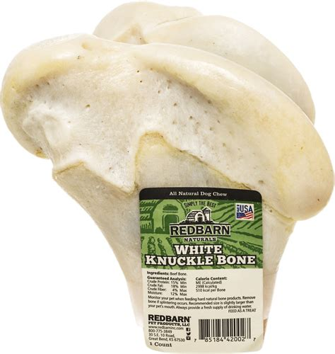knuckle bones for dogs redbarn naturals white knuckle bones treats 5 in chew