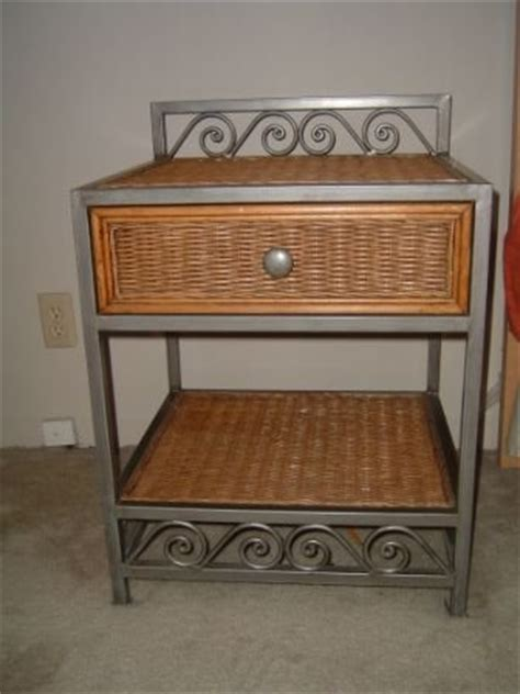 furniture sale two pier one nightstand tables two