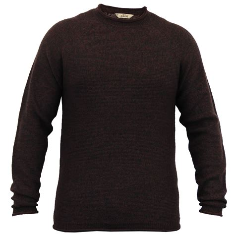 mens knitted jumpers mens knitted wool blend jumper pullover top winter sweater