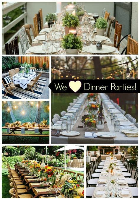 dinner party ideas we heart outdoor dinner parties b lovely events