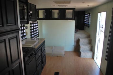 painted black rv cabinets exle happy cer
