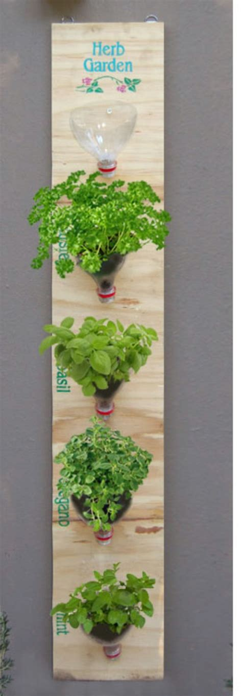 Jar Vertical Garden 18 Brilliant And Creative Diy Herb Gardens For Indoors And