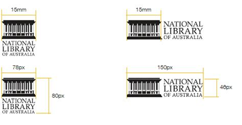 logo size for national library of australia media zone