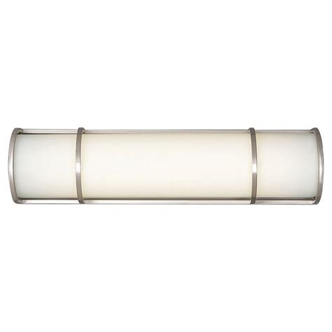 satin nickel bathroom light fixtures philips palette 2 light satin nickel bath fixture f351036u the home depot