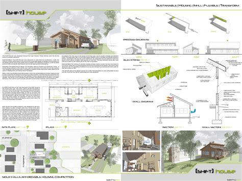 layout presentation architecture i like the sheet layout here architectural models