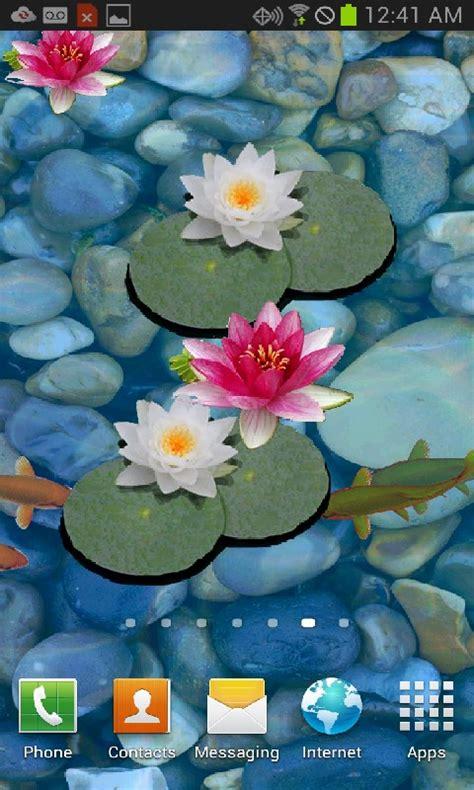 Pond Live Wallpaper by Free 3d Koi Pond Live Wallpaper Free Apk For
