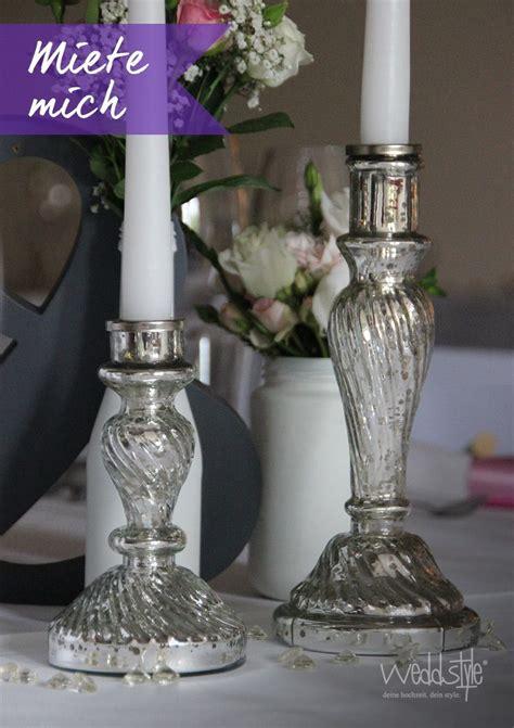 kerzenständer glas silber die besten 17 ideen zu kerzenst 228 nder silber auf