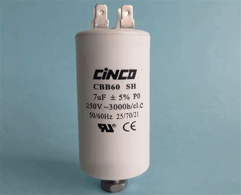 capacitor cbb60a 7uf 250vac cbb60a motor run capacitors 4pins cinco capacitor china ac capacitors factory