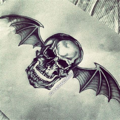 deathbat tattoo 25 best ideas about avenged sevenfold on