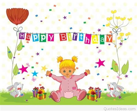 Children Happy Birthday Quotes New Happy Birthday Wishes For Kids With Quotes Wallpapers