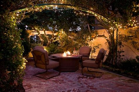 How To Keep A Party Ready Patio Backyard Lighting Ideas