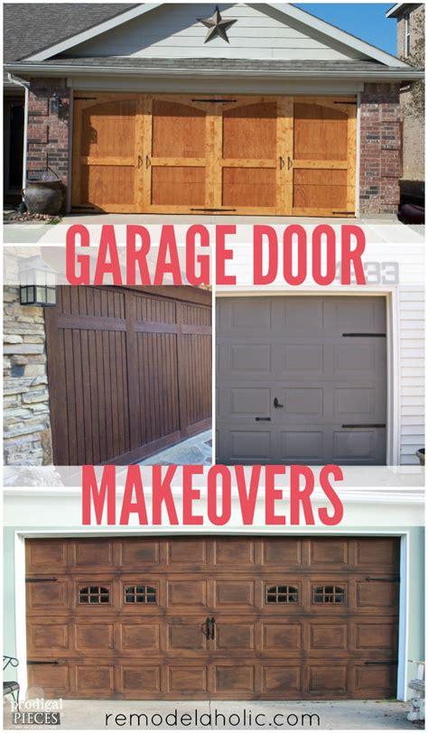 Garage Door Makeover Diy by Remodelaholic 8 Diy Garage Door Updates