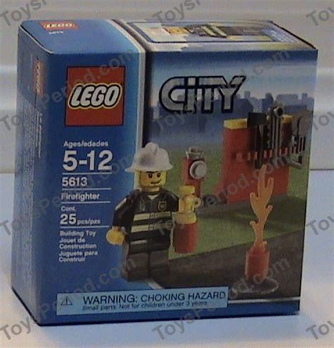 Lego 5613 Firefighter lego 5613 firefighter set parts inventory and lego reference guide