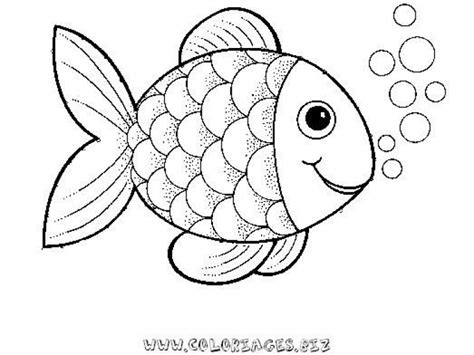fish coloring page pdf preschool rainbow fish coloring sheet to print for free