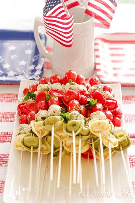 Cpwm Memorial Day Bbq Appetizer Menu by 17 Best Ideas About Tortellini Skewers On
