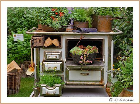 Deko Ofen Garten by Blumenfahrr 228 Der Und Andere Bepflanzte Gebrauchsgegenst 228 Nde