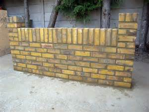 how to build a brick wall self build co uk