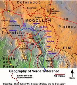 verde valley arizona map verde html