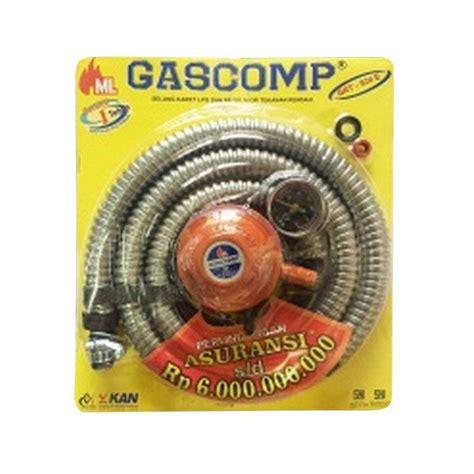 Kompor Gas Gascomp jual gascomp paket selang dan regulator gas harga