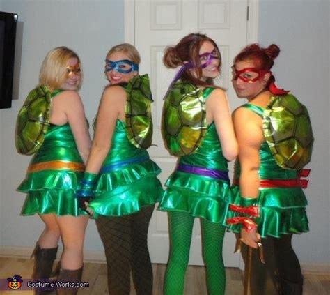 teenage mutant ninja turtles group costume
