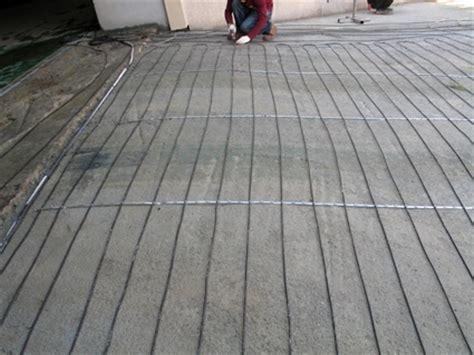 Heatizon Hott Wire MI Cable Snow Melt Heated Driveway