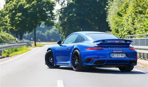 Porsche 911 Turbo S Tuning by Edo Competition S 675hp Porsche 911 Turbo S Cracks 340 Km