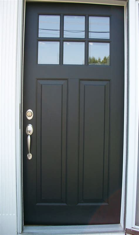 Black Exterior Door Sixty Fifth Avenue The Painted Front Door Part Two