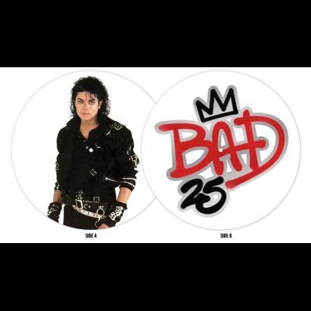 michael jackson bad vinyl original bad 25th anniversary picture vinyl michael jackson