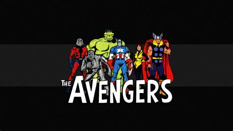 classic marvel wallpaper the avengers classic wallpaper by squiddytron on deviantart