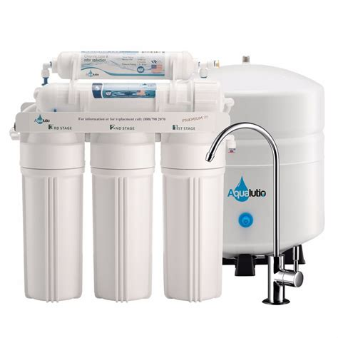 5 stage ro filtration system sink water filter usa