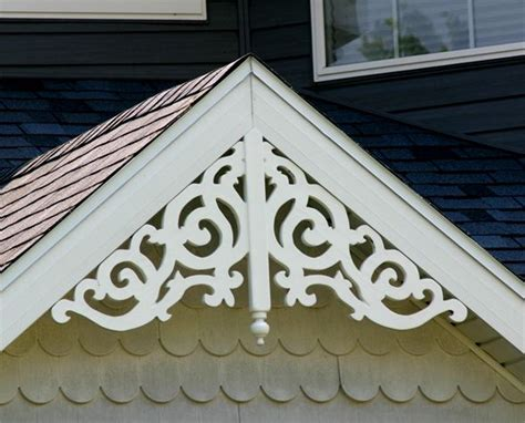 decorative gable trim iron maintenance free gable decorations at discount prices wholesalemillwork 176 85 for
