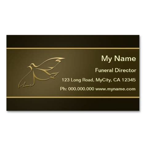 Director Business Card Template by 136 Best Images About Funeral Business Cards On