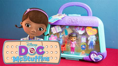 doc mcstuffins toy doc mcstuffins on the go stuffy playset by disney junior youtube