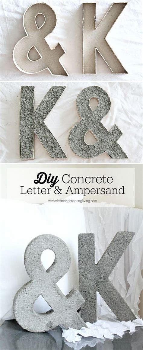 Letter Diy 20 Pretty Diy Decorative Letter Ideas Tutorials Listing More