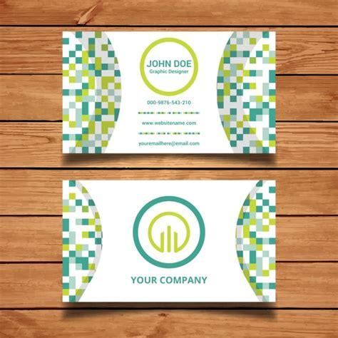 Business Card Pixels