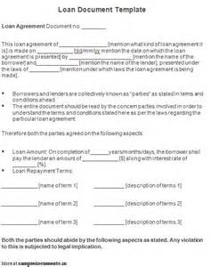 loan papers template free printable personal loan agreement form generic