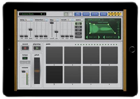best drum tutorial app new drum machine app for ipad vatanator 187 synthtopia