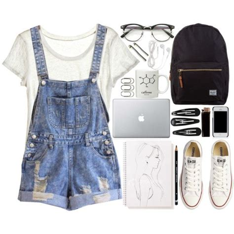 cute outfits  school     easy