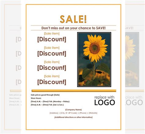 sale advertisement template sales flyer template 61 free psd format free